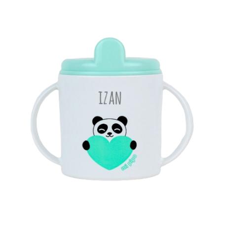 Taza plástico personalizada Panda