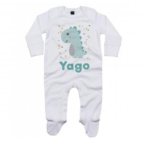 Pijama personalizado dinosaurio