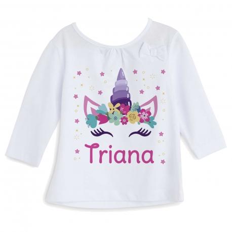 Camiseta personalizada unicornio