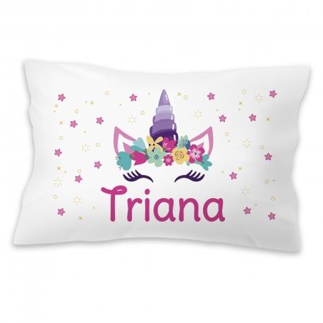 Almohada personalizada unicornio
