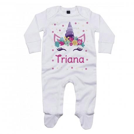 Pijama personalizado unicornio