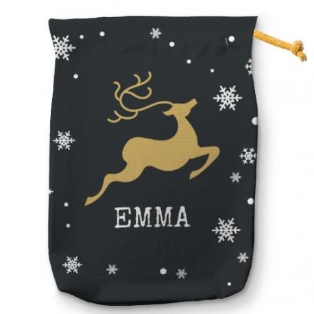 Saco para regalos Reindeer