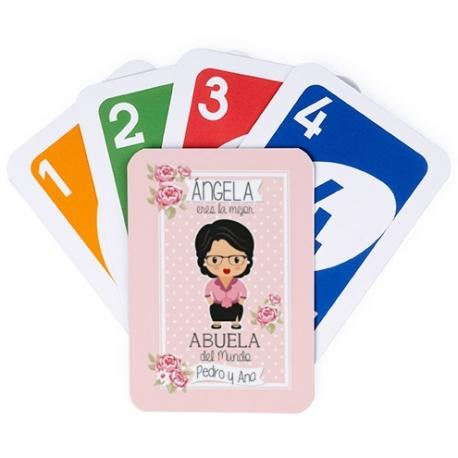 Juego de cartas UNO - ABUELA JOVEN