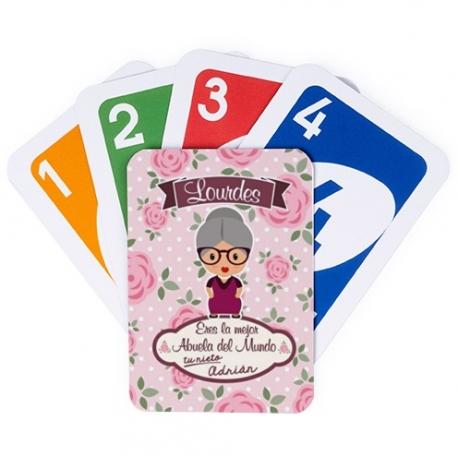 Juego de cartas UNO - ABUELA MAYOR
