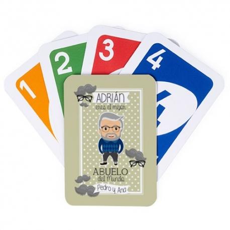 Juego de cartas UNO - ABUELO JOVEN