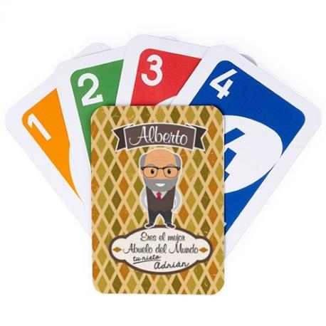 Juego de cartas UNO - ABUELO MAYOR