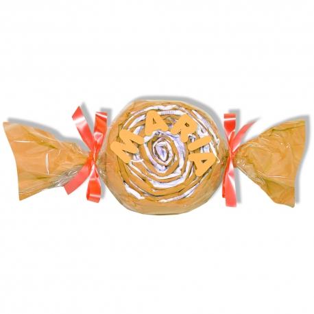 Caramelo de pañales NARANJA