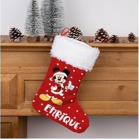 Calcetín Navidad personalizado - Mickey
