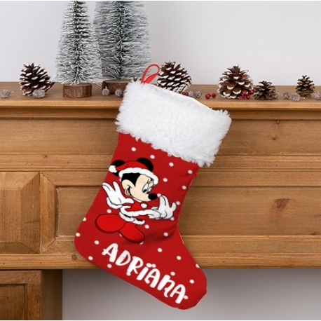 Calcetín Navidad personalizado - Minnie