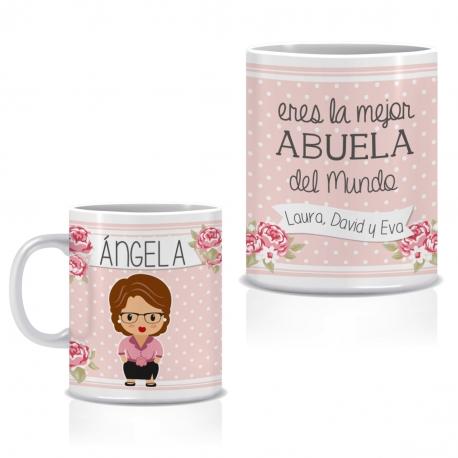 Taza personalizada ABUELA JOVEN
