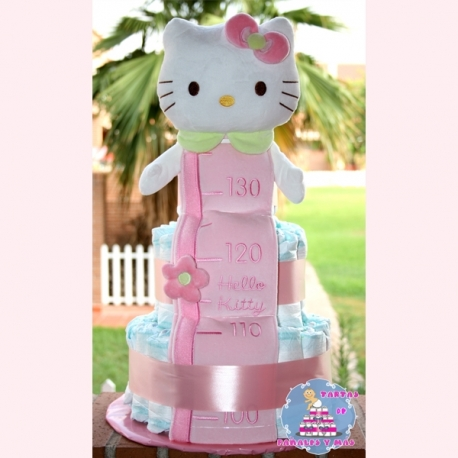 TARTA HELLO KITTY 3 PISOS