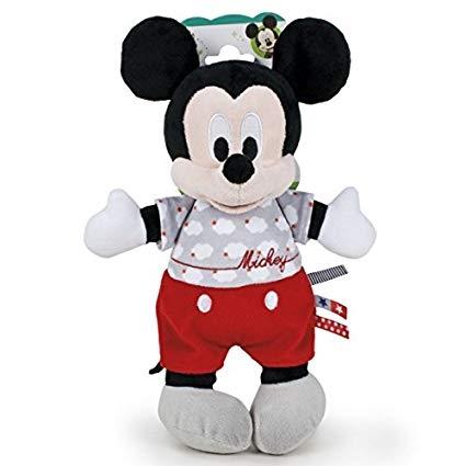Peluche Mickey GRIS-ROJO