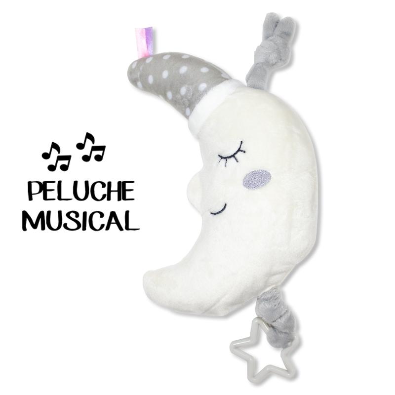 Peluche musical LUNA GRIS