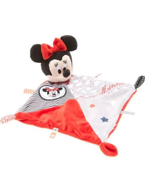 Doudou Minnie rojo/gris
