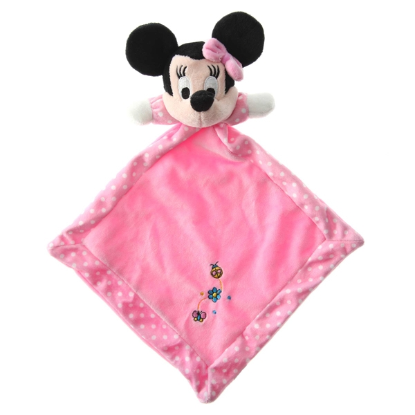 Doudou Minnie rosa puntitos