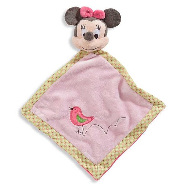 Doudou 1 Minnie rosa pajarito